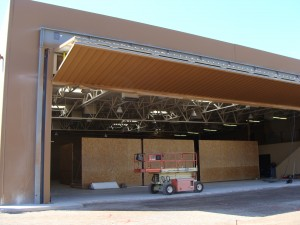 Chandler Hangar Bi-Fold Addition